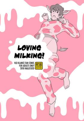 LOVING MILKING!