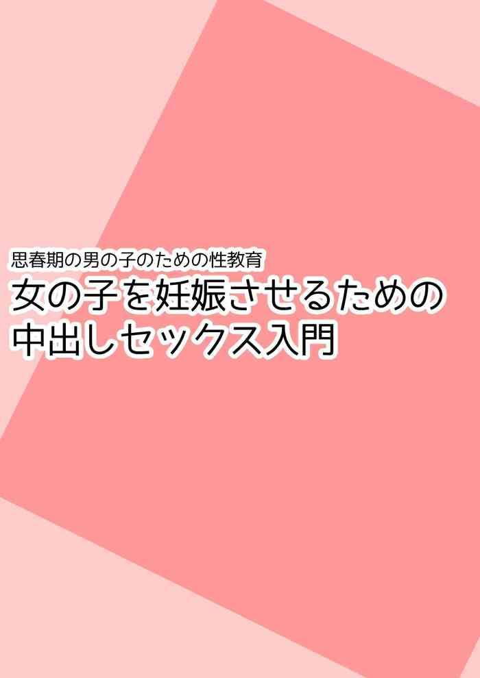 Shishunki no Otokonoko no Tame no Seikyouiku Onnanoko o Ninshin saseru Tame no Nakadashi Sex Nyuumon