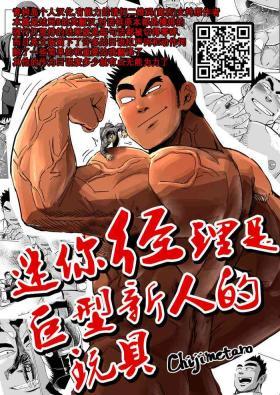 Kobito Shachou wa Oogata Shinjin no Omocha - The Tiny President