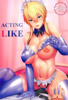 Hermana ACTING LIKE - Fate grand order Gayhardcore