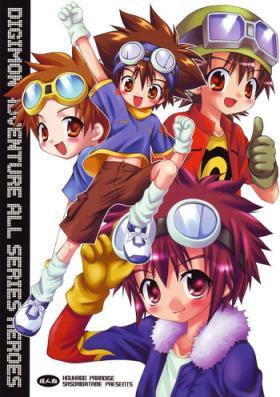 Digimon Adventure All Series Heroes