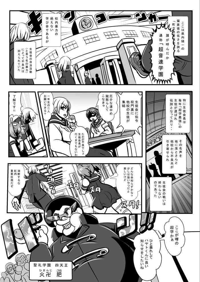 """Furyou Toubatsu Seitokai """"Haiboku Seisai"""""""