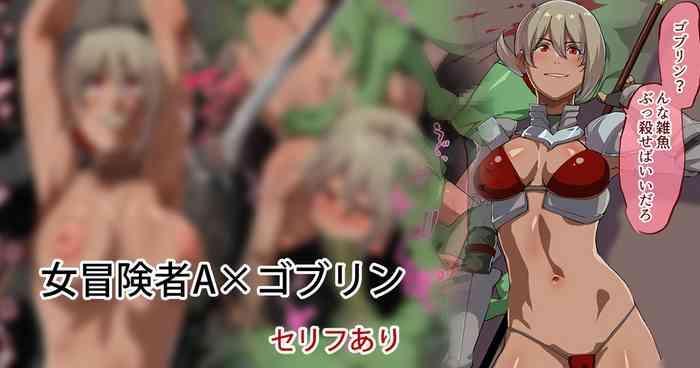 Female Adventurer A x Goblin