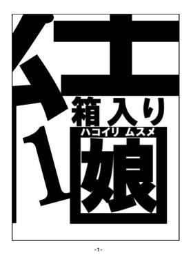 Hakoiri Musume【不可视汉化】