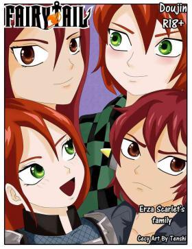 Erza Scarlet's family