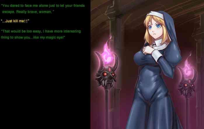 Maou ni Sarawareru Shinkan | Priestess grabbed by Dark Lord
