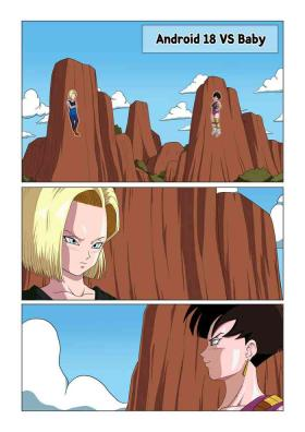 Android 18 vs Baby