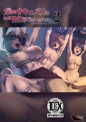 Chikara Aru Succubus wa Seiyoku o Mitashitai dake. 2