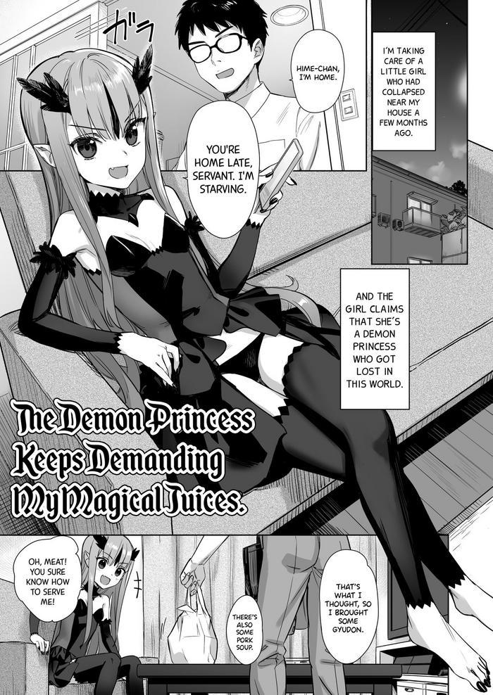 Mazoku no Hime ga Ore no Maryokujiru o Matomete Yamenai Ken | The Demon Princess Keeps Demanding My Magical Juices