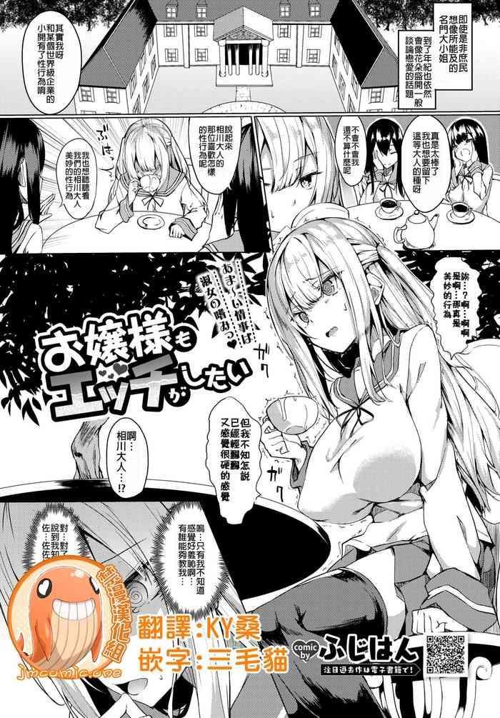 Ojou-sama mo Ecchi ga Shitai